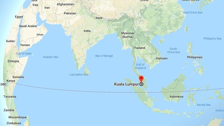 Where is Kuala Lumpur What Country is Kuala Lumpur in Kuala Lumpur Map