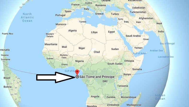 Where is Sao Tome - What Country is Sao Tome in - Sao Tome Map