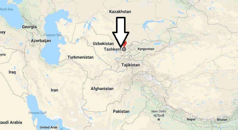 Where is Tashkent What Country is Tashkent in Tashkent Map