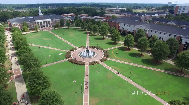 Where is Troy University Located on the Map
