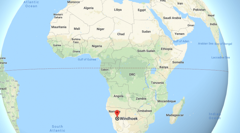 Where is Windhoek? What Country is Windhoek in? Windhoek Map