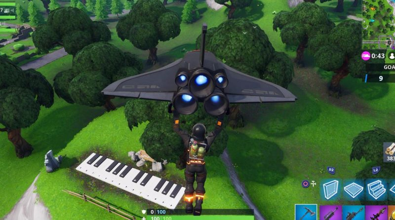 Where is the piano near lonely lodge