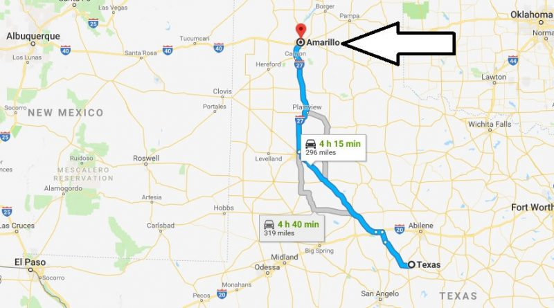 Where is Amarillo Texas Located? What County is Amarillo?