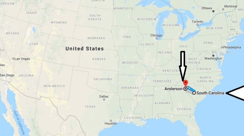 Where is Anderson (SC) South Carolina Located? What County is Anderson (SC)?