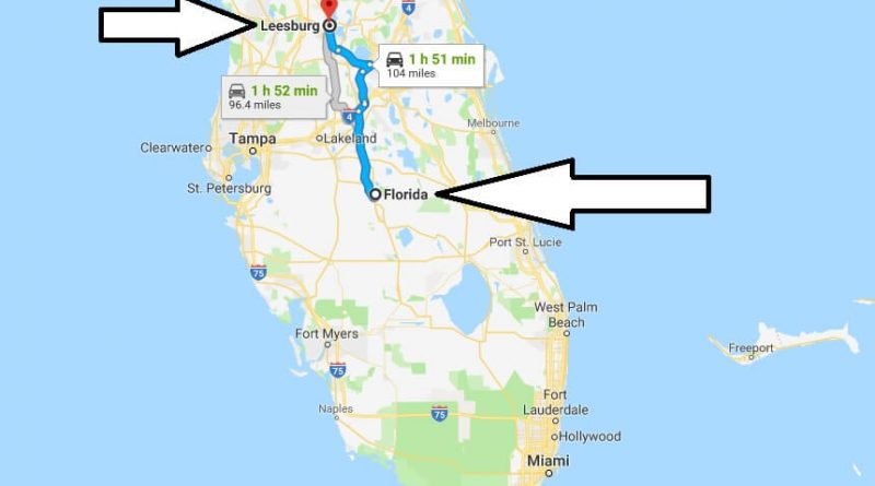 Leesburg Florida Map.Where Is Leesburg Florida Fl Located Map What County Is Leesburg