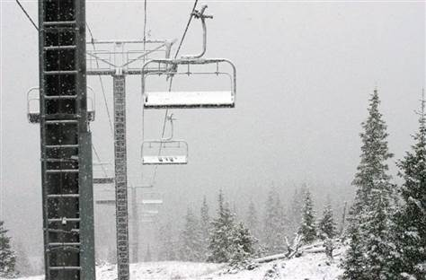 Where is the highest ski lift in north america?