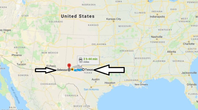 Where is Odessa Texas (TX), Located Map? What County is Odessa?