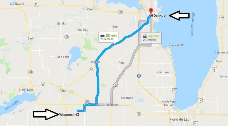 Where is Oshkosh Wisconsin (WI), Located Map? What County is Oshkosh?