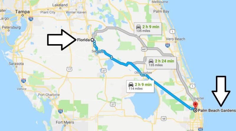 Where is Palm Beach Gardens Florida (FL), Located Map - What County is Palm Beach Gardens