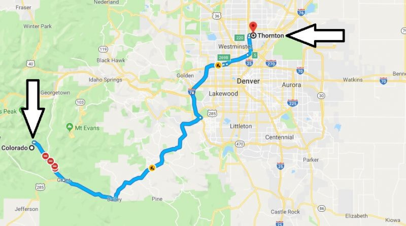 Where is Thornton Colorado (CO), Located Map? What County is Thornton?