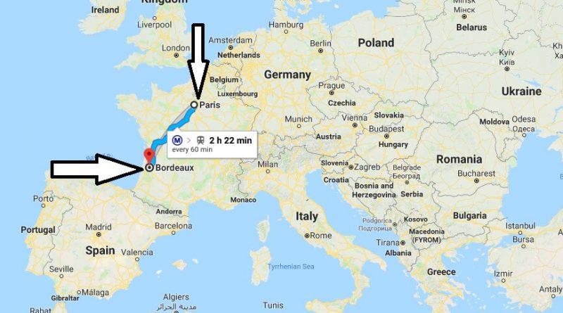 Where is Bordeaux? What Country is Bordeaux in? Bordeaux Map