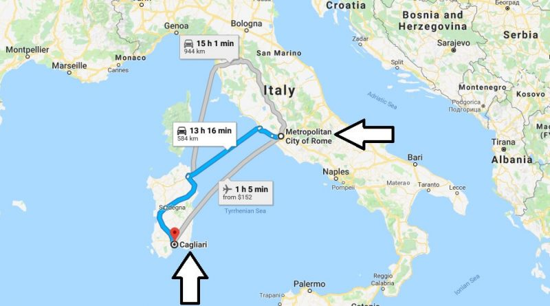 Where is Cagliari Italy Located Map? What County is ...