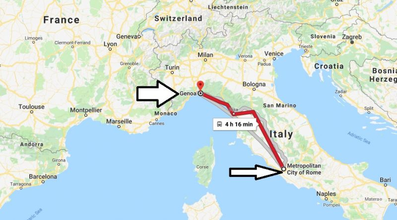 Where is Geneo Italy Located Map? What County is Geneo?