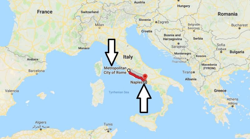 Where is Naples Italy Located Map? What County is Naples?
