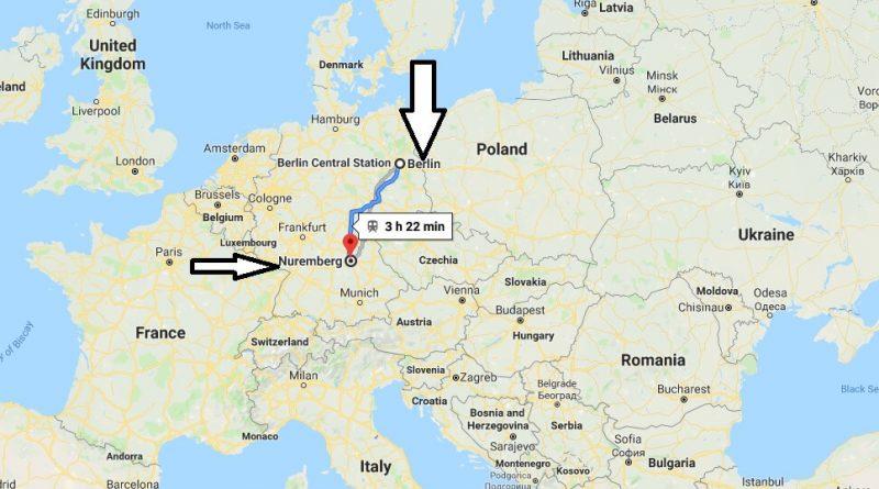 Where is Nuremberg? What Country is Nuremberg in? Nuremberg Map