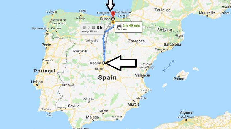 Where is Bilbao? What Country is Bilbao in? Bilbao Map