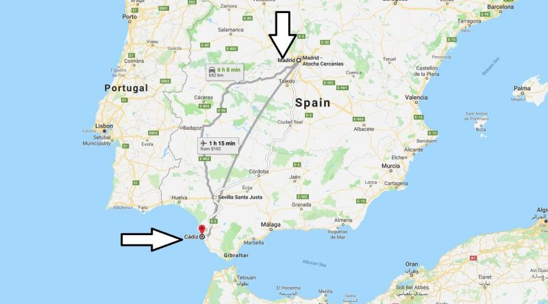 Where is Cadiz? What Country is Cadiz in? Cadiz Map