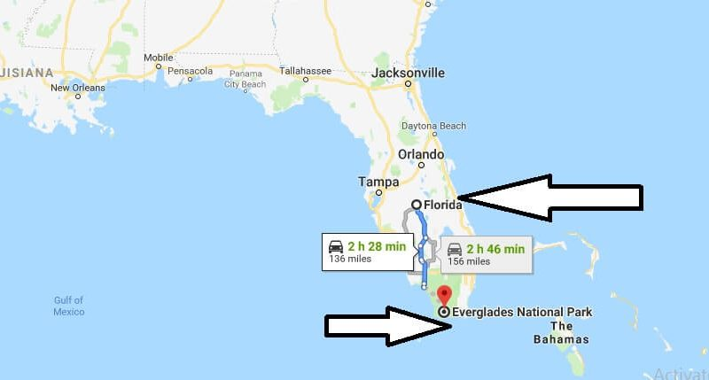 Where is Everglades National Park? What Country is Everglades National Park in? Everglades National Park Map