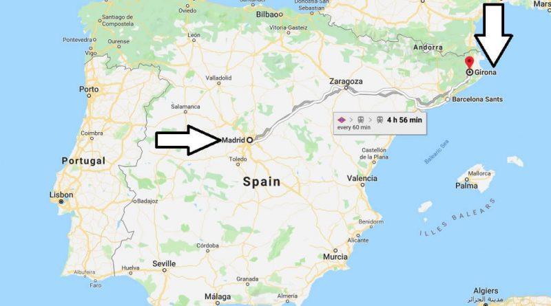 Where is Girona? What Country is Girona in? Girona Map