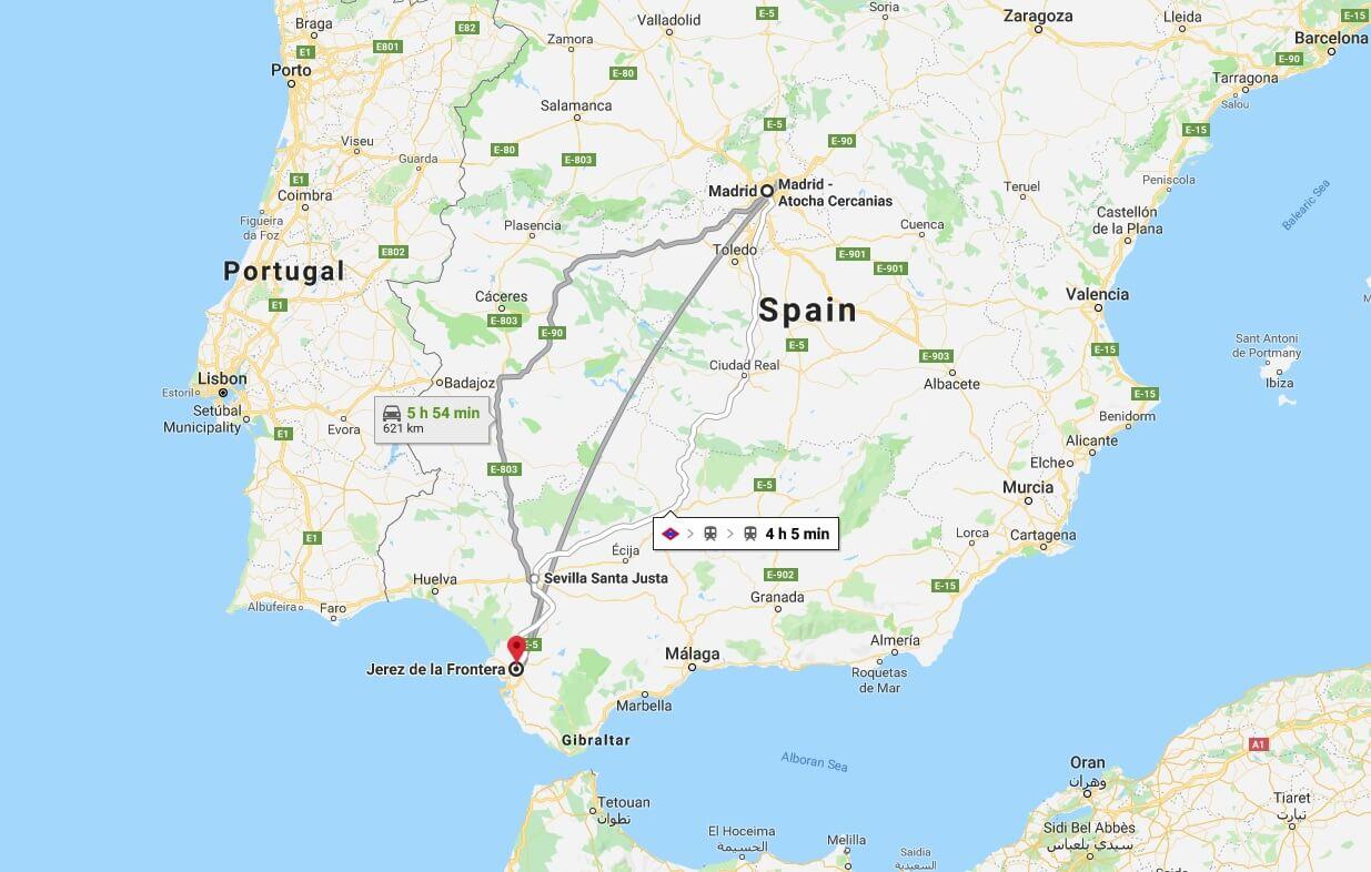 Cartina Jerez De La Frontera.Where Is Jerez De La Frontera What Country Is Jerez De La Frontera In Jerez De La Frontera Map Where Is Map