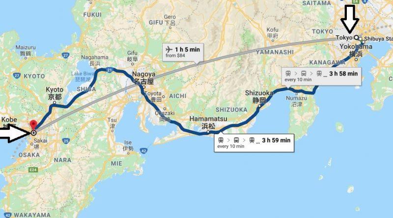 Where is Osaka - What Country is Osaka in - Osaka Map
