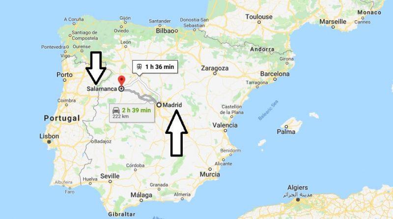 Where is Salamanca - What Country is Salamanca in - Salamanca Map