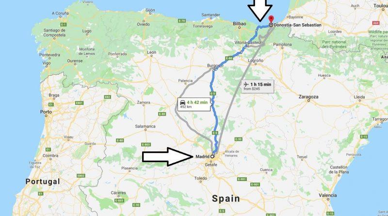 Where is San Sebastian? What Country is San Sebastian in? San Sebastian Map