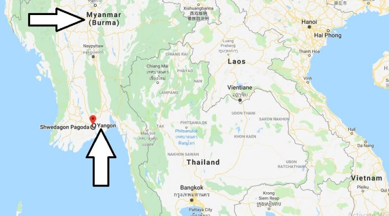 Where is Shwedagon Pagoda? What Country is Shwedagon Pagoda in? Shwedagon Pagoda Map