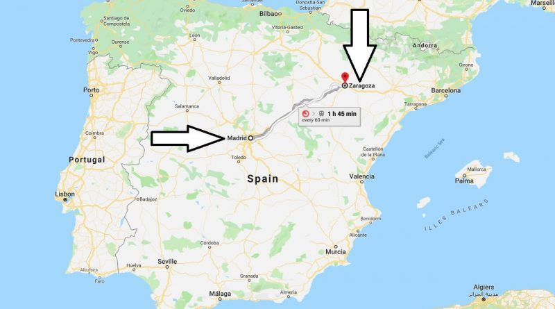 Where is Zaragoza? What Country is Zaragoza in? Zaragoza Map