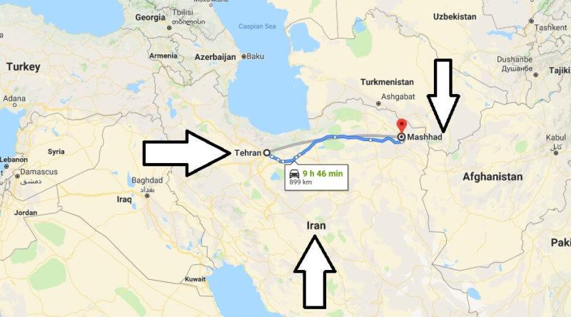 Where is Mashhad? What Country is Mashhad in? Mashhad Map