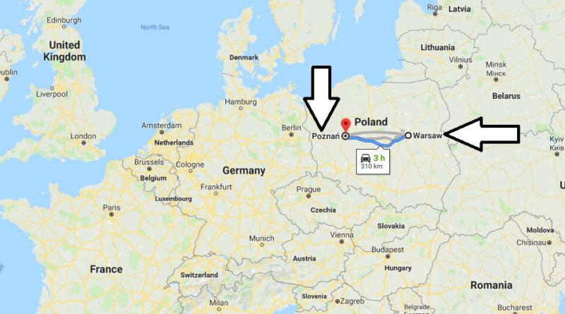Where is Poznan? What Country is Poznan in? Poznan Map