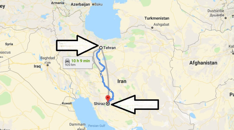 Where is Shiraz? What Country is Shiraz in? Shiraz Map