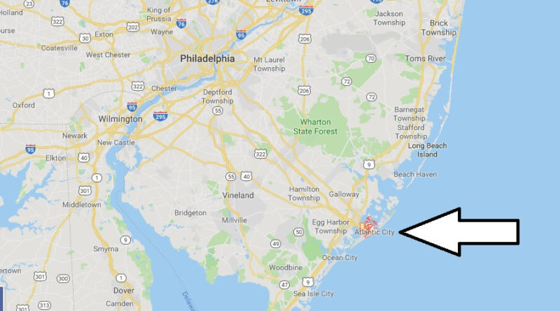 Where is Atlantic City? What Country is Atlantic City in? Atlantic City Map