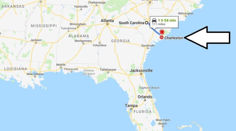 Where is Charleston - What Country is Charleston in - Charleston Map