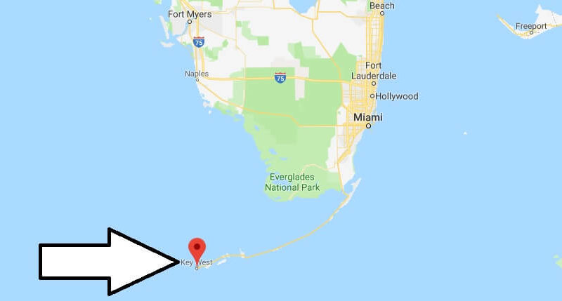 Where is Key West? What Country is Key West in? Key West Map
