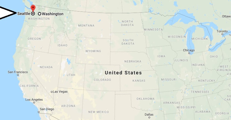 What state is Seattle located in? Is Seattle in Washington DC