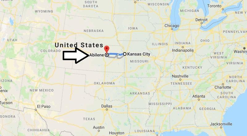 Where is Abilene, Kansas? What State is Abilene? Abilene Map Located