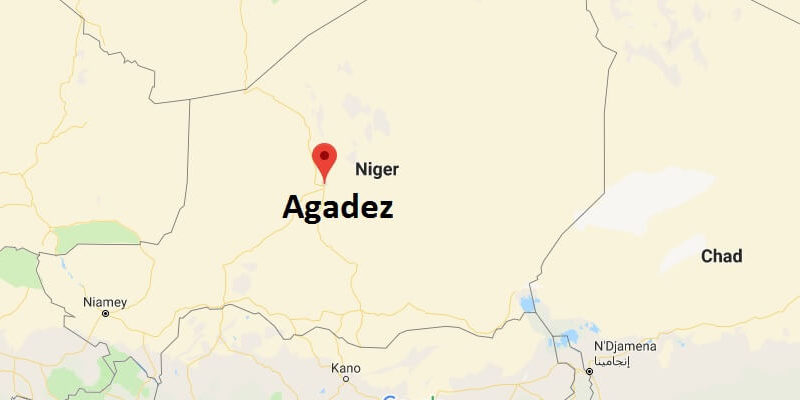 Where is Agadez? What Country is Agadez in? Agadez Map Located
