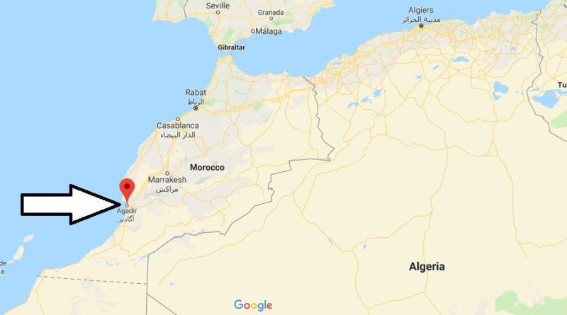 Where is Agadir? What Country is Agadir in? Agadir Map Located