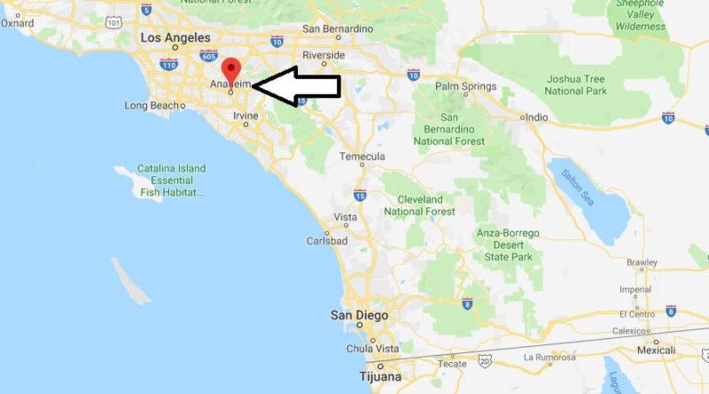 Where is Anaheim, California? What County is Anaheim? Anaheim Map Located