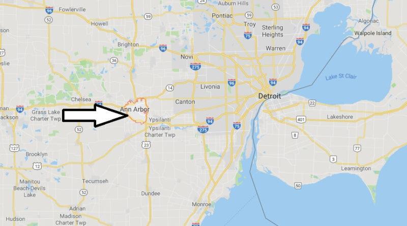 Where is Ann Arbor, Michigan? What County is Ann Arbor? Ann Arbor Map Located