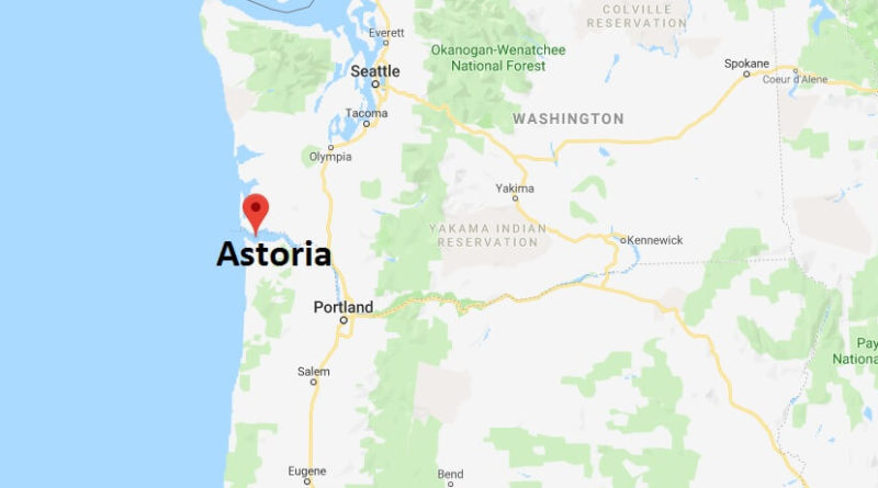Where is Astoria, Oregon? What County is Astoria? Astoria Map Located