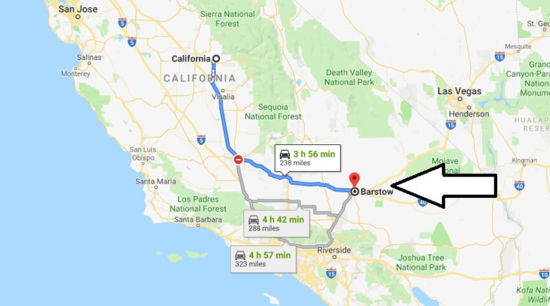 Where is Barstow, California? What County is Barstow? Barstow Map Located