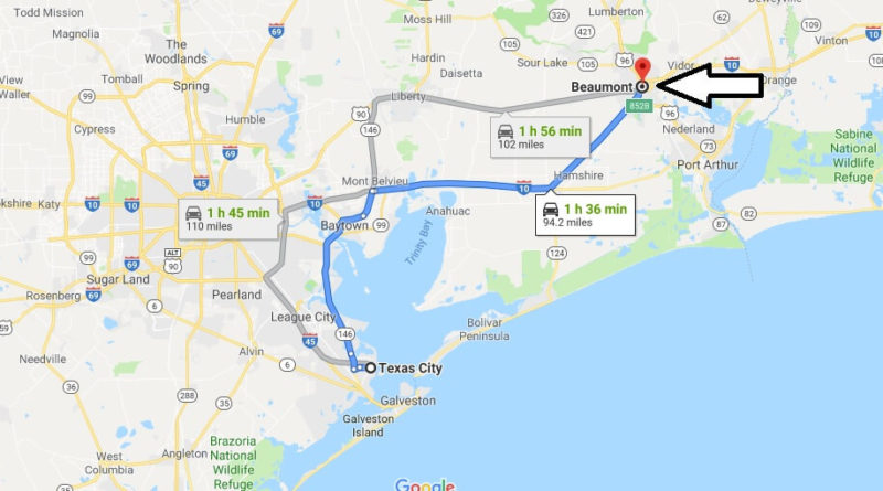 Where is Beaumont, Texas? What County is Beaumont? Beaumont Map Located