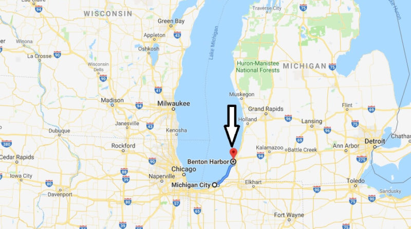 Where is Benton Harbor, Michigan? What County is Benton Harbor? Benton Harbor Map Located