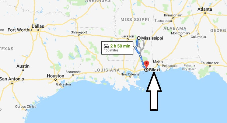 Where is Biloxi, Mississippi? What County is Biloxi? Biloxi Map Located