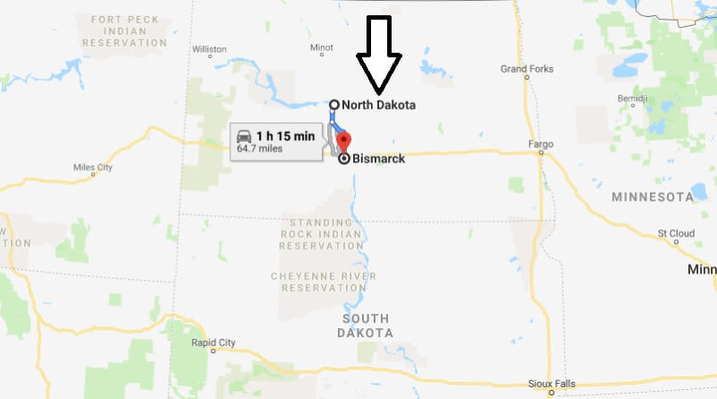 Where is Bismarck, North Dakota? What County is Bismarck? Bismarck Map Located