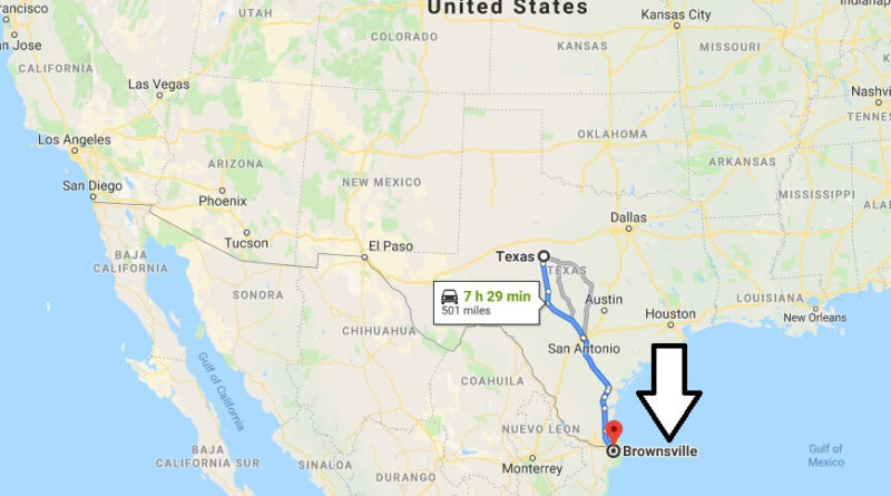 Where is Brownsville, Texas? What County is Brownsville? Brownsville Map Located