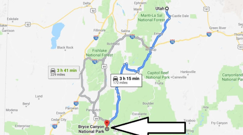 Where is Bryce Canyon National Park? What city is Bryce Canyon? How do I get to Bryce Canyon