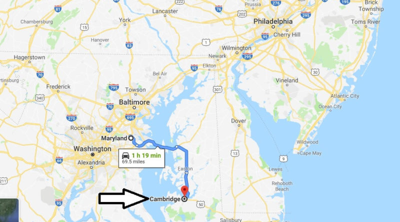 Where is Cambridge, Maryland? What County is Cambridge? Cambridge Map Located